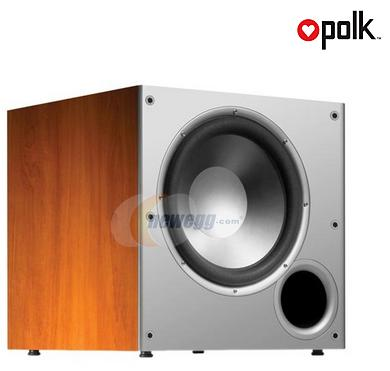 Polk Audio PSW Series PSW10 Cherry 10-inch Powered Subwoofer Single