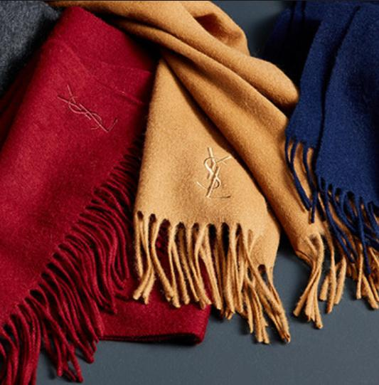 $85.00($225.00) Yves Saint Laurent Wool Scarf(8 color) @ LastCall by Neiman Marcus