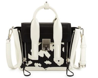 3.1 Phillip Lim	 Pashli Mini Zip Embroidered Satchel Bag