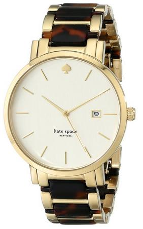 Kate Spade New York Women's 1YRU0703 Gramercy Grand Analog Display Japanese Quartz Two Tone Watch