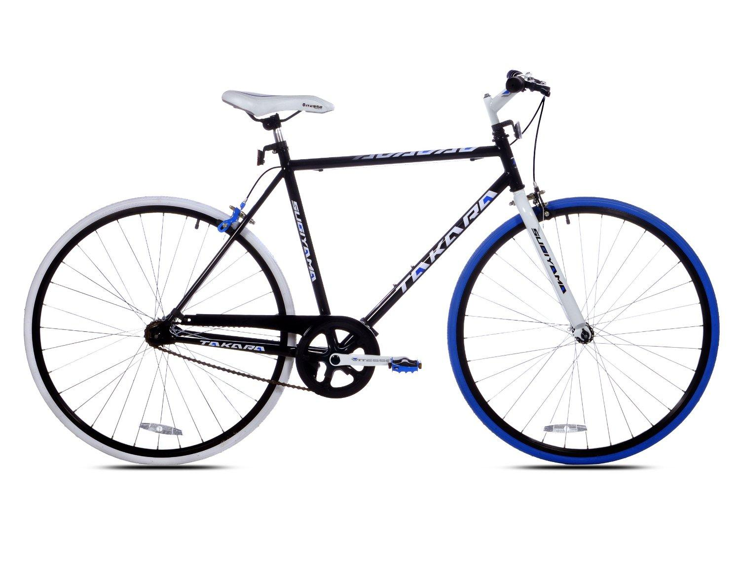 Takara Sugiyama Flat Bar Fixie Bike (700c Wheels, 58cm Frame)