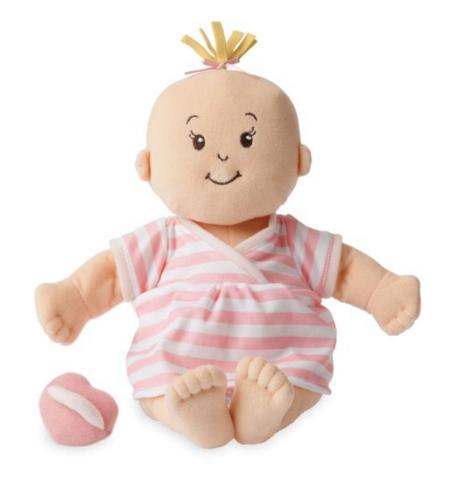 Lowest price! Manhattan Toy Baby Stella Peach Soft Nurturing First Baby Doll