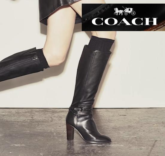 Up to 40% Off COACH Shoe Sale