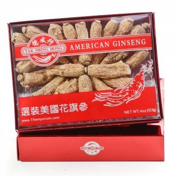 $168 for 4 boxes + Free Shipping American Ginseng S80-AAA 4oz Sale @ TS