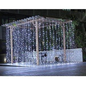Ecandy 300led Window Curtain Icicle Lights