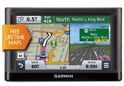 "$79.99 Garmin nuvi 55LM GPS Navigation System with Lifetime Maps 5"" Display"