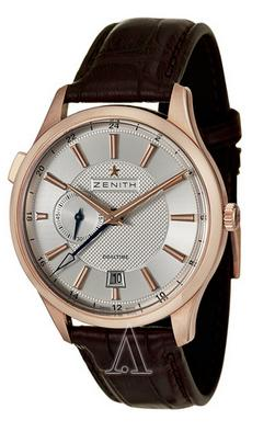 Dealmoon Exclusive! Zenith Captain Men's Captain Dual Time Watch 18-2130-682-02-C498