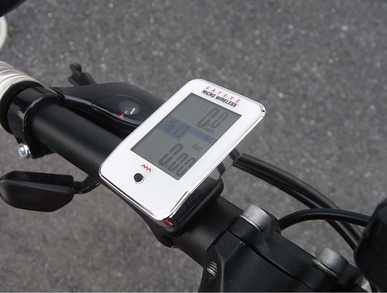 CatEye CC-MC200W Micro Wireless Comp Bike Computer