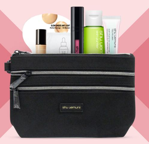 Free Makeup Pouch + 5-pc Gift with Any $75 Purchase @ Shu Uemura