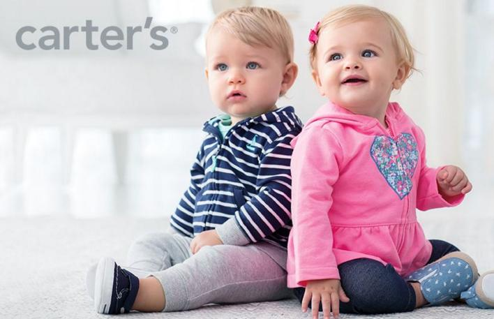 Up to 60% Off+Extra 30% Off Clearance Items @ Carter's