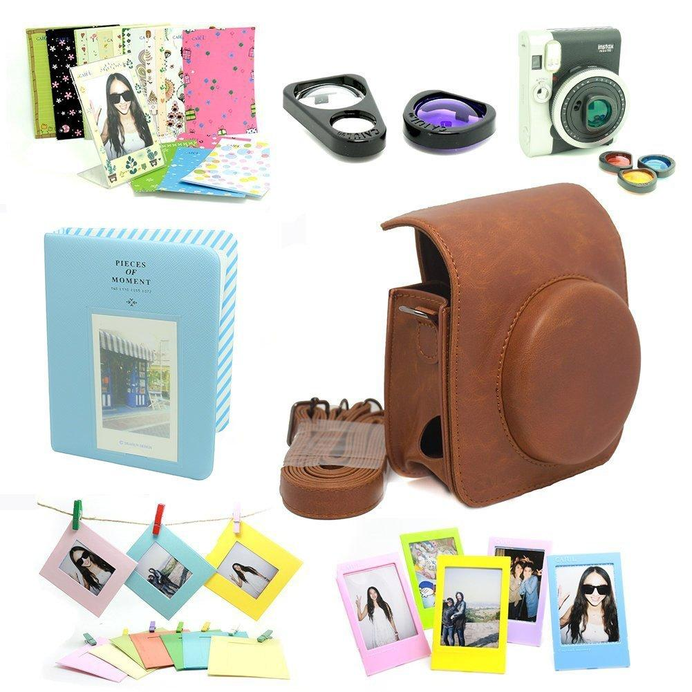 CAIUL 7 in 1 Fujifilm Instax Mini 90 Camera Accessories Bundle