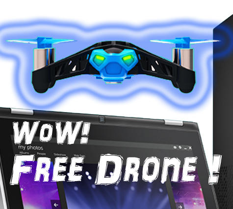Value $99.99 Buy a PC, Get a Free Drone @Dell Home Systems