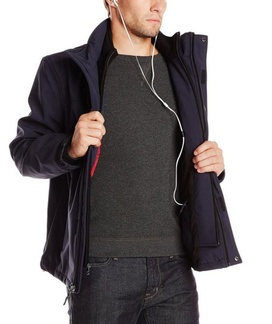 Calvin Klein Men's Fleece Bib Jacket