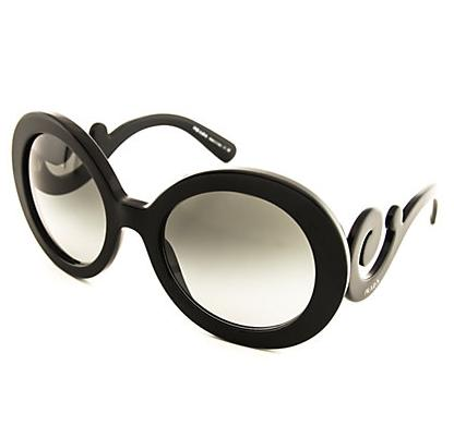 Prada Women's Minimal Baroque Sunglasses On Sale @ Rue La La