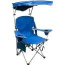 Bravo Sports Quik Shade Fully Adjustable Folding Chair with Carrying Bag (Royal Blue)
