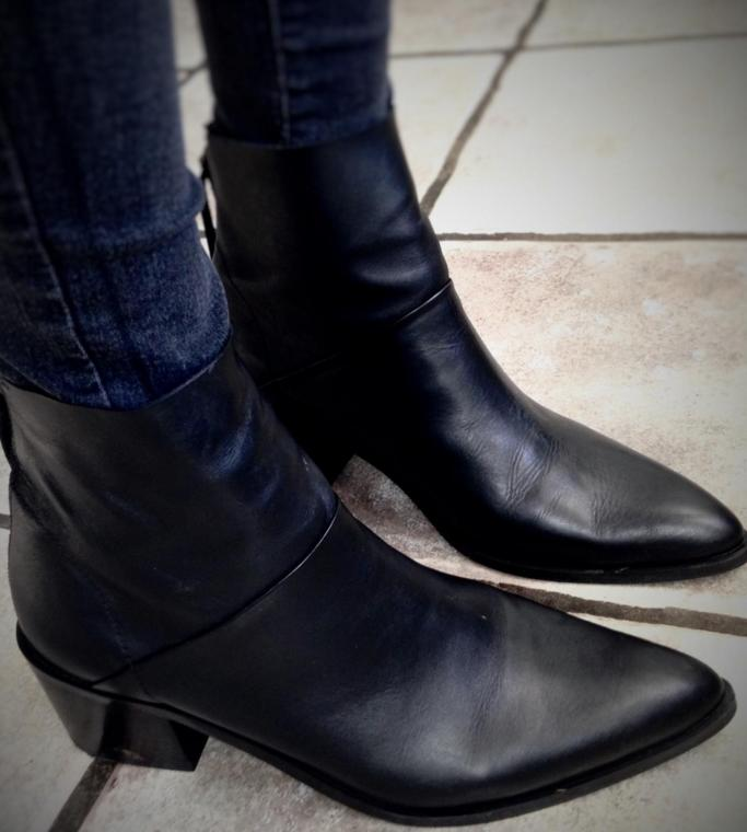 Topshop 'Midnight' Pointy Toe Boot @ Nordstrom