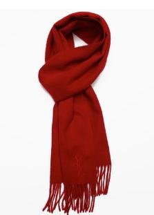 $75 + $50 Off $250 Yves Saint Laurent Scarf @ Bluefly