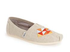 TOMS 'Classic' Embroidered Slip-On (Women)