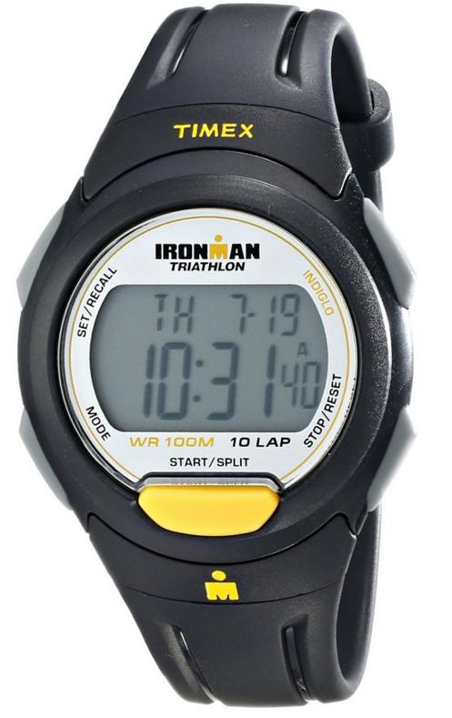 Timex Men's T5K779 Ironman Traditional 10-Lap Resin Strap Watch
