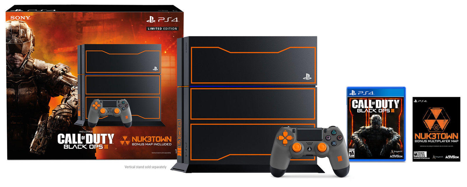 Sony PS4 1TB Call of Duty Black Ops 3 LE Bundle