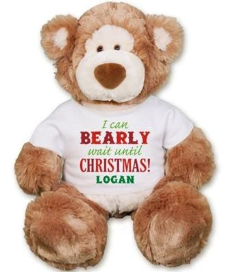 Christmas Alfie Teddy Bear - 18