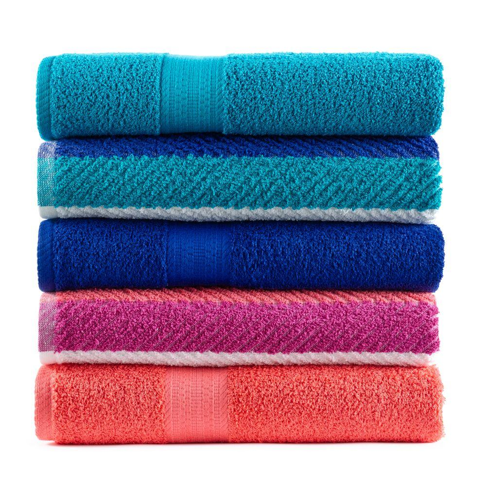7 For $ $18 The Big One Bath Towels