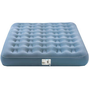 AeroBed Single High Queen Airbed with Built-In Pump