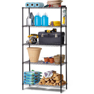 $30.74 Work Choice 5-Tier Commercial Wire Shelving Rack