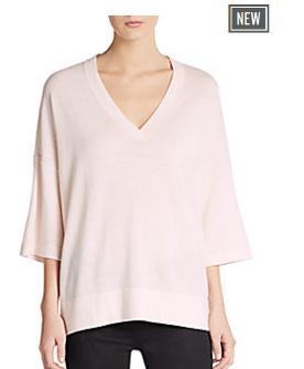 Up to 66% Off Women's Cashmere Sweater @  Saks Off 5th