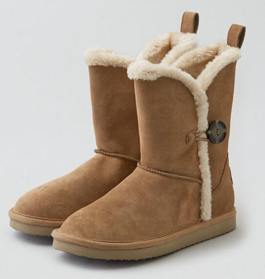 From $17.98 Select AEO Cozy Boots On Sale @ American Eagle