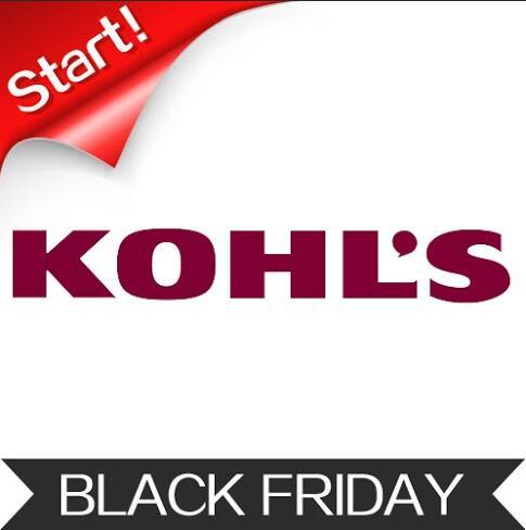 Live Now! Kohl's 2015 Black Friday Online Sale