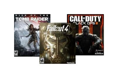 Save $25 On Select Game Buy Fallout 4, Tomb Raider or Call of Duty: Black Ops III