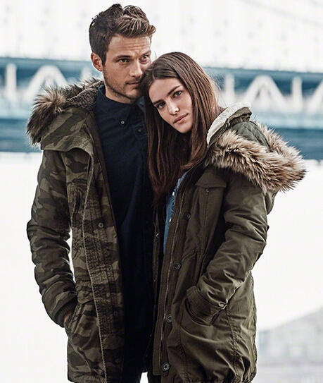 Up to 50% Off + Up to Extra 30% Off Outwear @ Abercrombie & Fitch