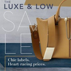 Up to 60% Off The Luxe and Low Sale Shoes & Handbags On Sale @ Rue La La