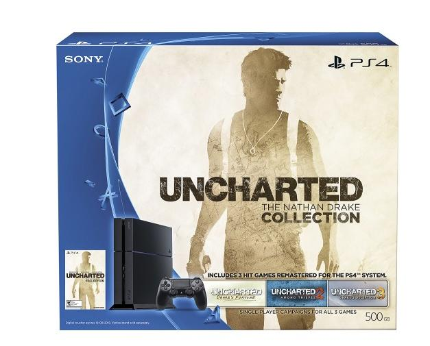 $299.99 Sony - PlayStation 4 500GB Uncharted: The Nathan Drake Collection Bundle + The Taken King - Legendary Edition