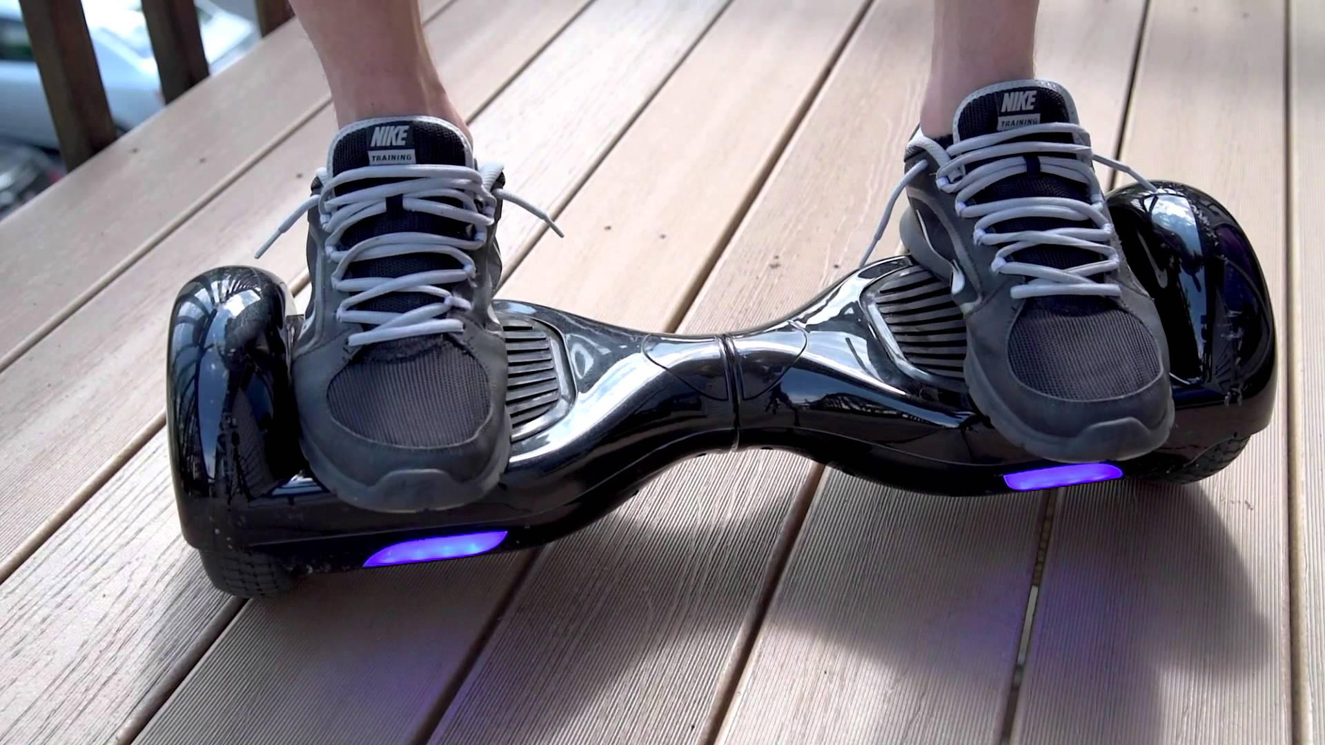 $224 Self Balancing Electric Scooter Hoverboard with LED Light - Hollywood Version