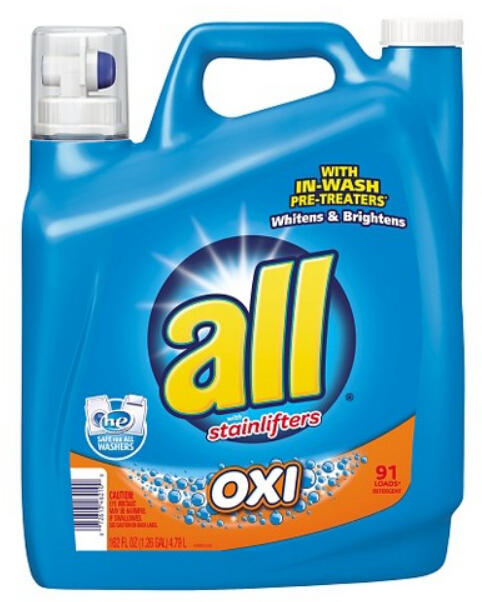 $34+$10 Gift Card Select All Laundry Detergents 162oz x4 @ Target