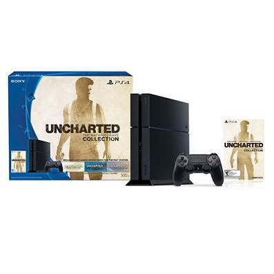 2015 Black Friday Doorbuster! PS4 500GB Uncharted: The Nathan Drake Collection Console Bundle