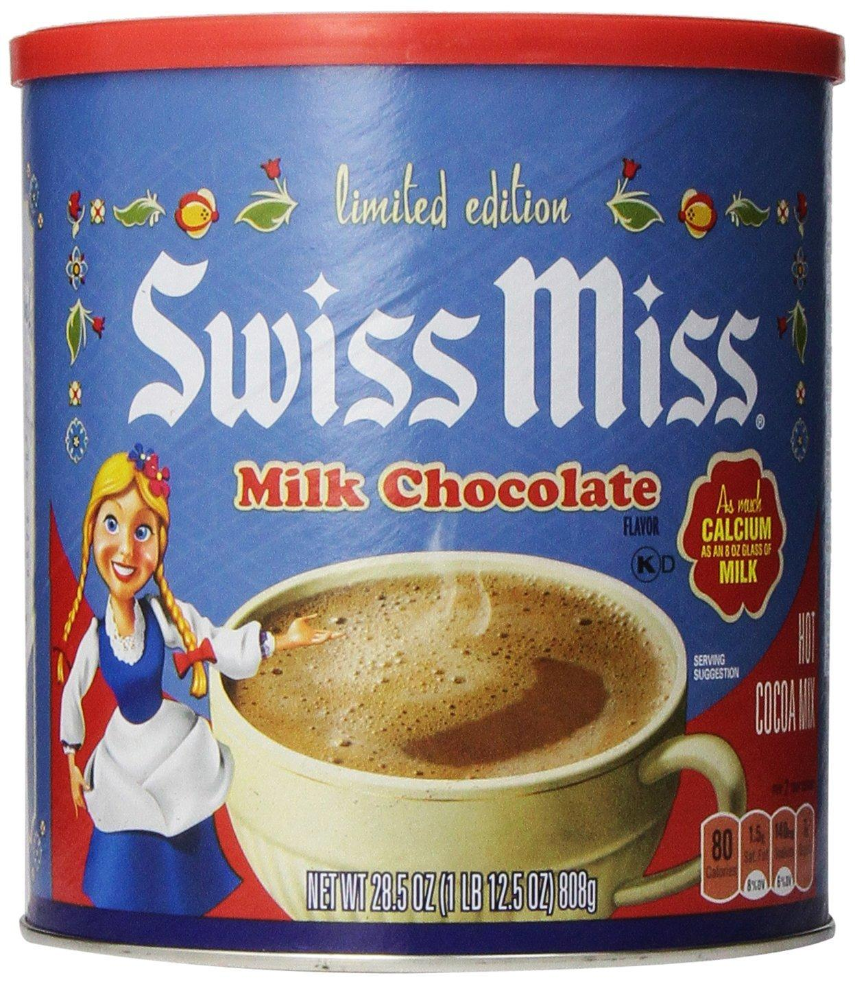 $5.16 Swiss Miss Hot Cocoa Mix, Milk Chocolate, 28.5 Ounce