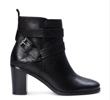 $159 + 25 Gift Card Ralph Lauren Cassy Leather Boot