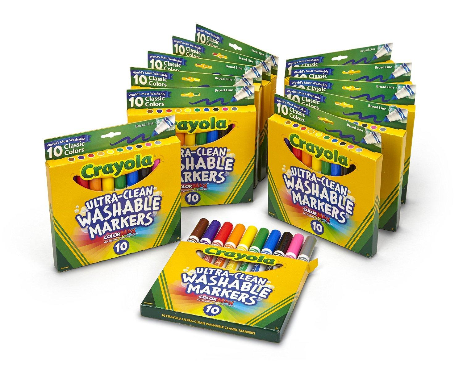 Crayola Broad Ultra Clean Markers