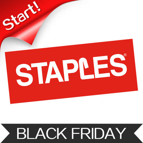 Start! Staples Black Friday 2015