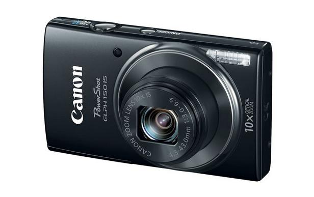 Canon PowerShot ELPH 150 IS Digital Camera (Refurbished)