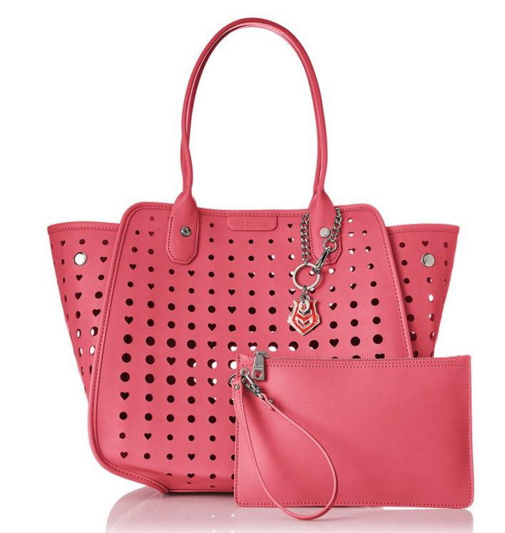 $112.30 Love Moschino Perforated Tote Bag