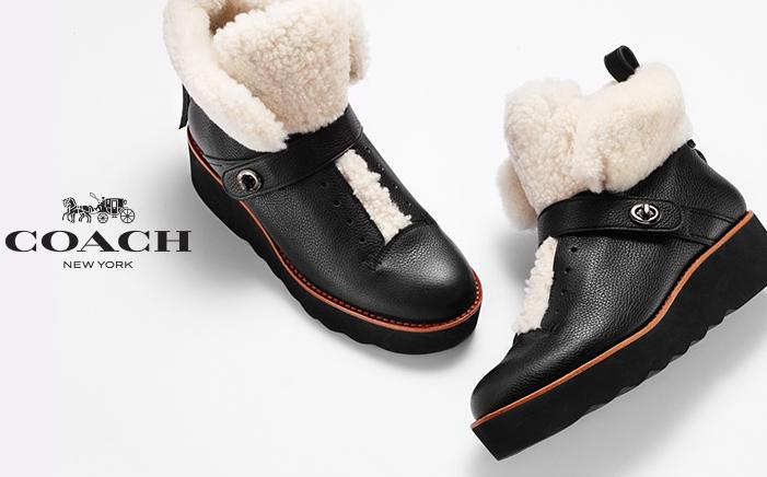 25% Off Coach  Women's Shoes On Sale @ Bloomingdales