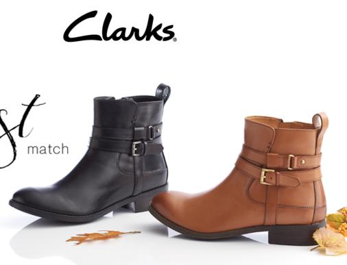 Up to 40% Off + Extra 25% Off Select Clarks Shoes Sale @ Macy's