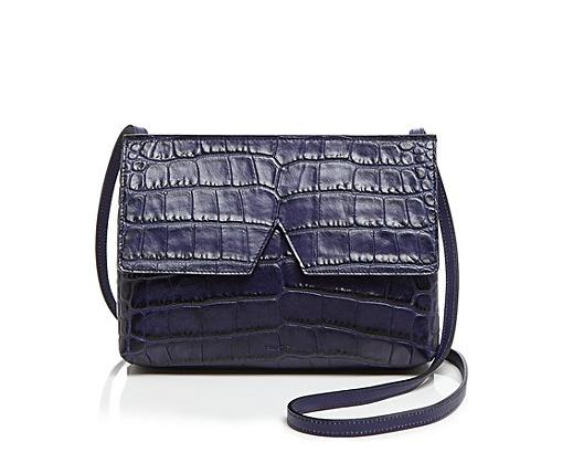 Vince Crossbody Signature Croc-Stamped Baby Handbag On Sale @ Bloomingdales