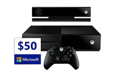 From $349 Xbox One + $50 Gift Card + Assassins Creed Unity/Halo: The Master Chief Collection