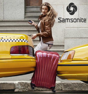 Additional $50 OFF! Entire Order of $150 or more @ Samsonite