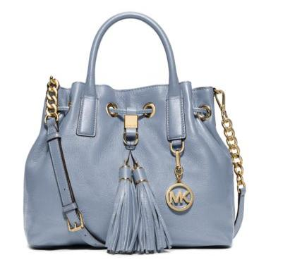 Michael Kors Camden Medium Leather Drawstring Satchel (Dealmoon Singles Day Exclusive!)